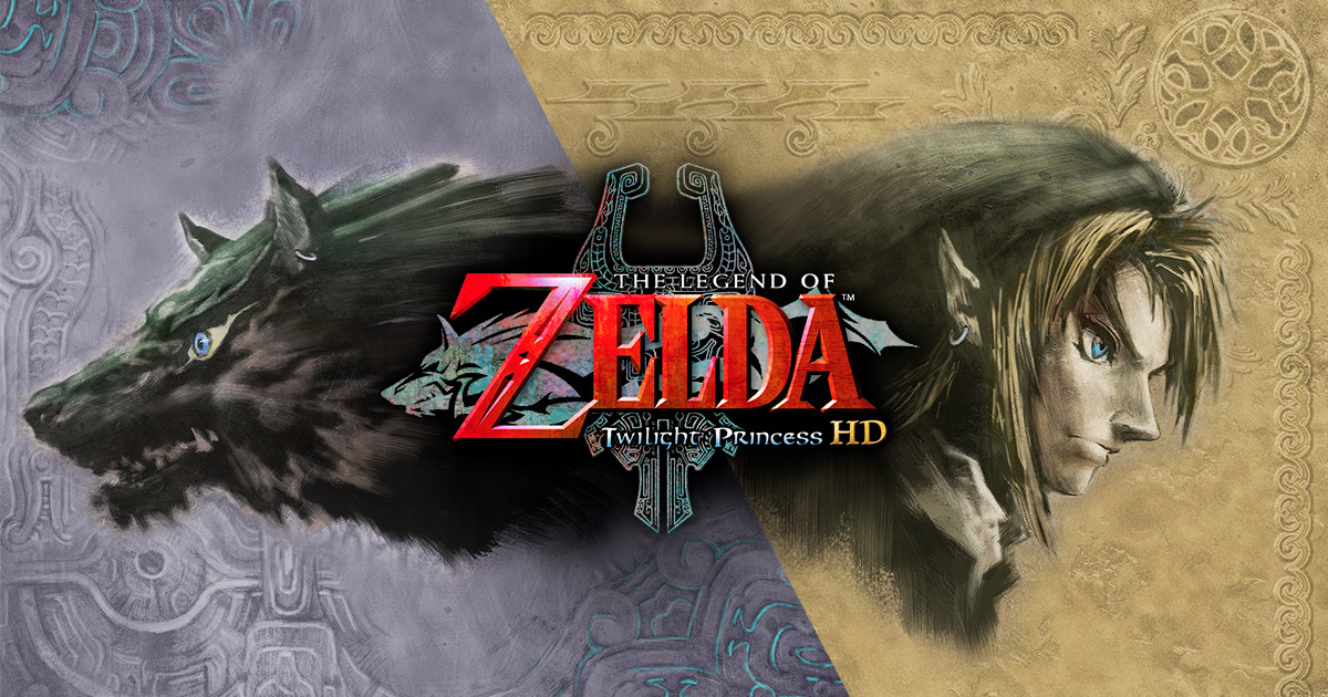 the legend of zelda twilight princess logo.