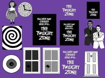 The Twilight Zone Inspired Clip Art.