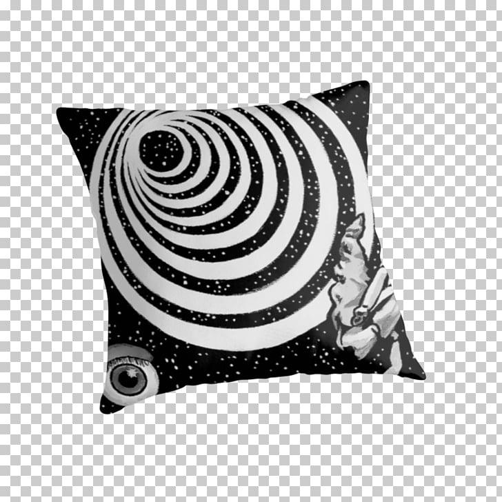 Throw Pillows Cushion White Rectangle Pattern, Twilight Zone.