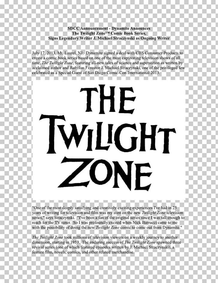 Poster Comic book The Twilight Zone Season 1 Television show.