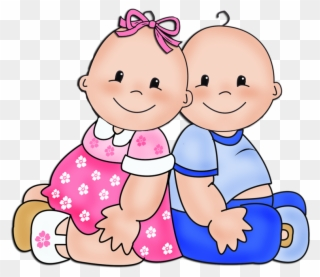 Free PNG Twin Babies Clip Art Download.