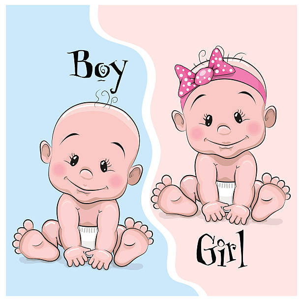 Twin baby clipart 1 » Clipart Station.