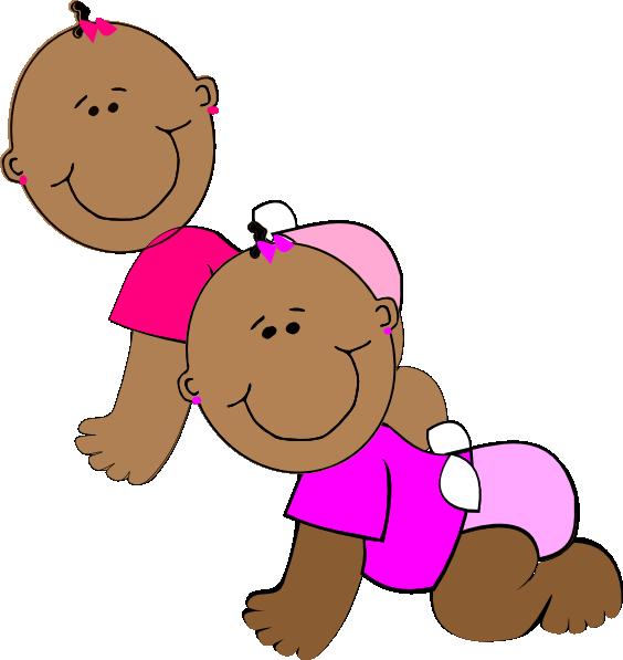 Twin Girls Clip Art at Clker.com.