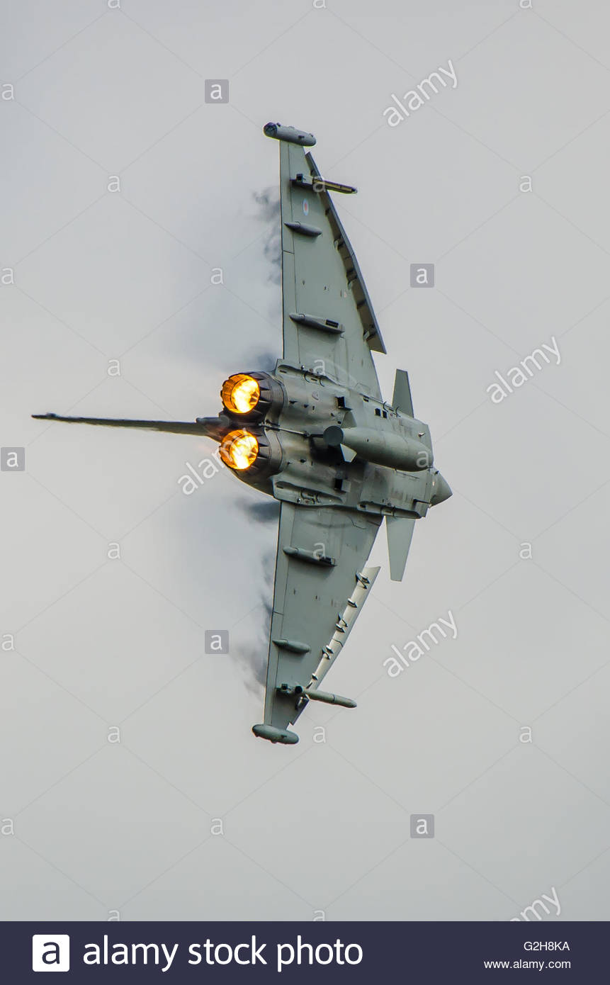 The Eurofighter Typhoon Is A Twin.