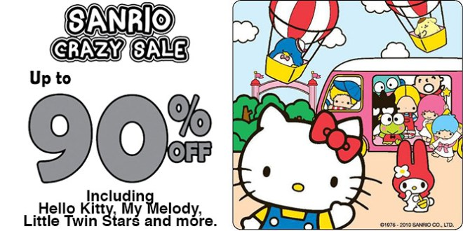 Sanrio Gift Gate Singapore: Crazy Sale Up to 90% OFF Hello Kitty.