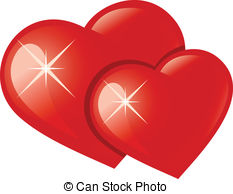 Twin hearts Stock Illustration Images. 462 Twin hearts.