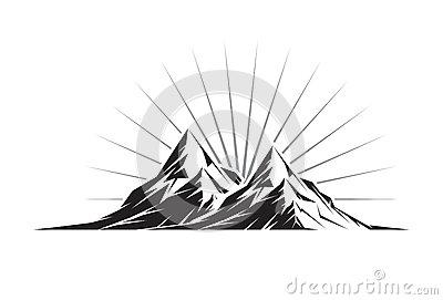 Twin Peaks Clipart.