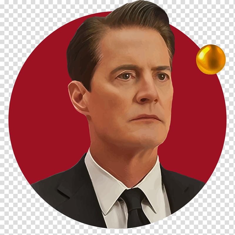 Dale Cooper transparent background PNG clipart.