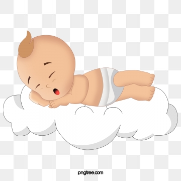Twin sbabies sleeping on a cloud clipart clipart images.