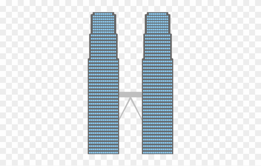 Twin Towers Clipart.