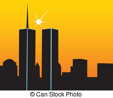 Twin towers Vector Clipart EPS Images. 375 Twin towers clip.