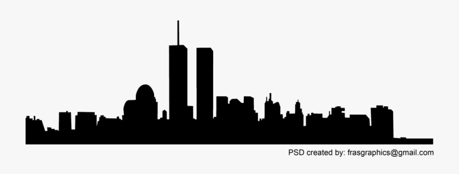 Transparent Twin Towers Clipart.