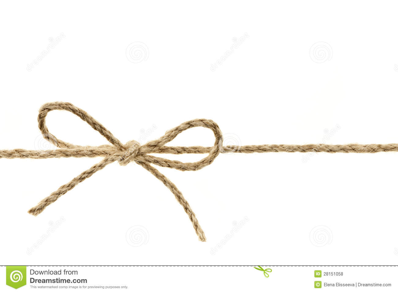 Twine clipart.