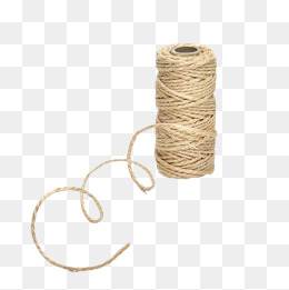 Yellow Hemp Rope, Thick Line, Twine Line #23606.
