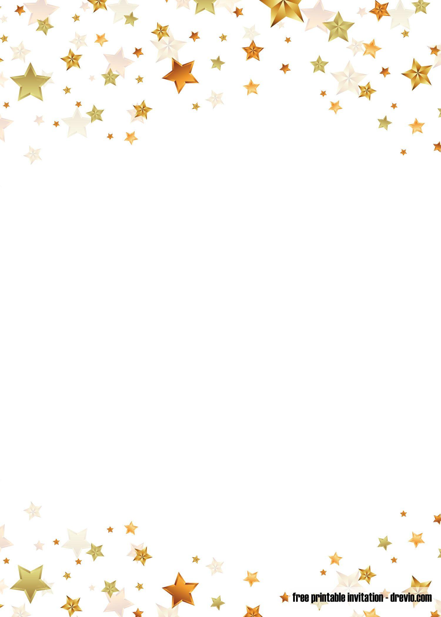 FREE Printable Twinkle Twinkle Little Star Invitation.