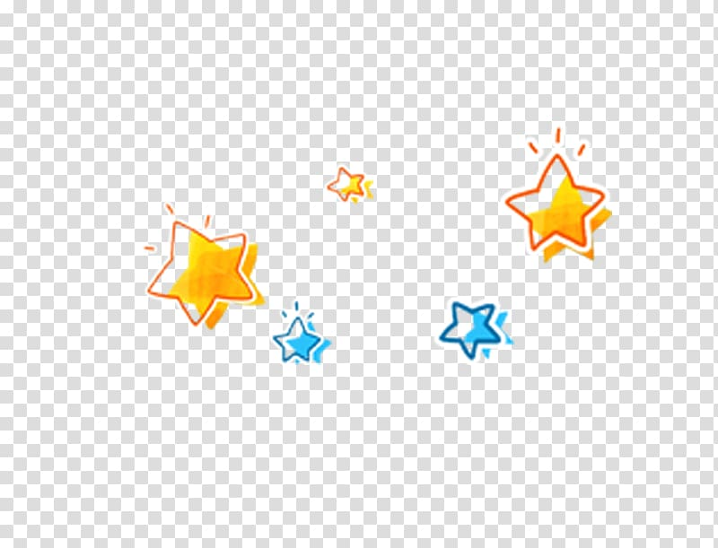 Yellow and blue stars illustration, Twinkle, Twinkle, Little.