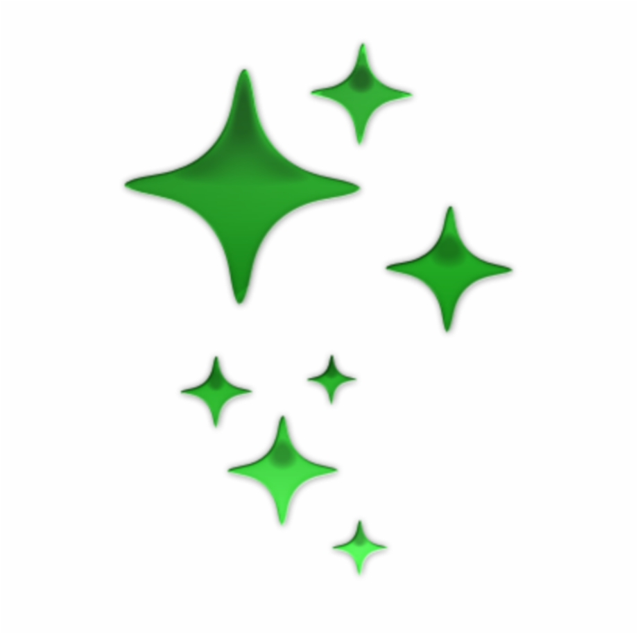 mq #green #stars #star #glow.
