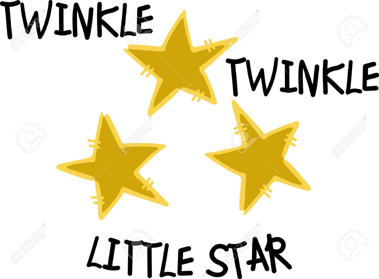 Twinkle twinkle little star clipart 2 » Clipart Station.