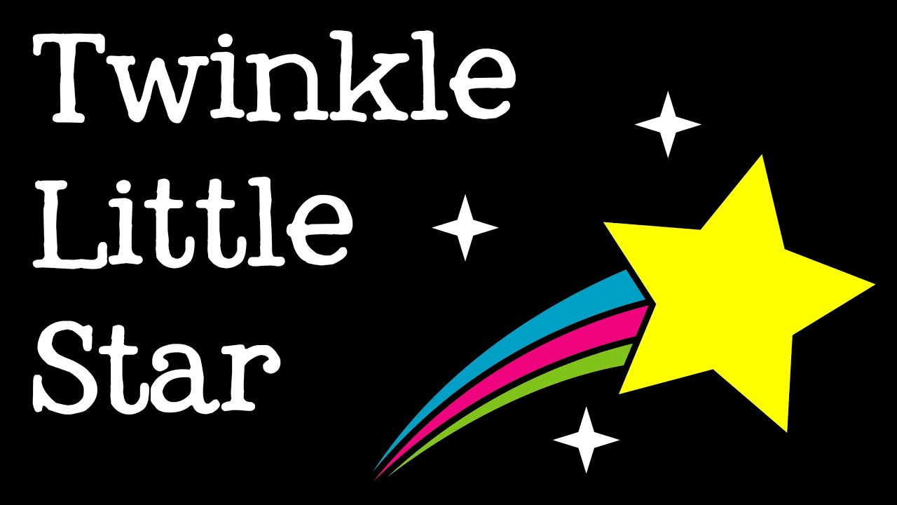 Twinkle Twinkle, Little Star Music Video for Children.