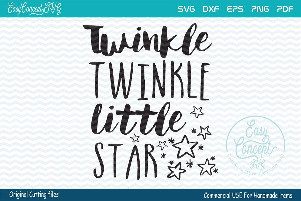 Twinkle Twinkle Little Star, SVG.