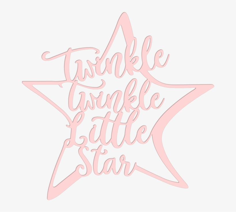 Twinkle Twinkle Little Star Metal Art.