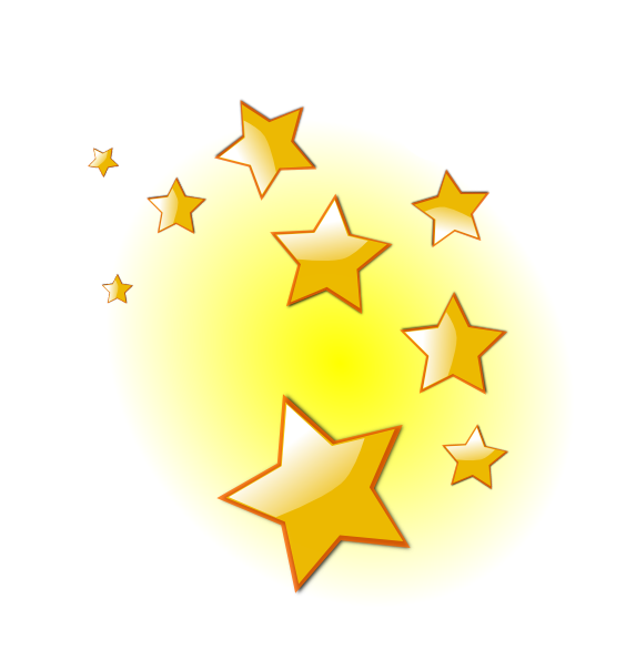 Twinkling Star Animated Clipart.