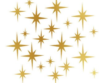 Twinkling stars clipart 2 » Clipart Portal.