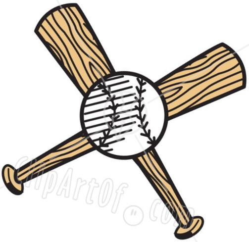 Baseball bat twins baseball clipart.
