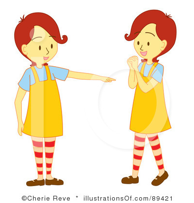 Twins Clipart.