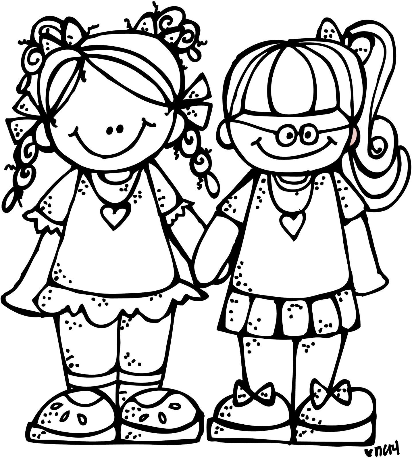 Showing post & media for Cute black twins cartoon.