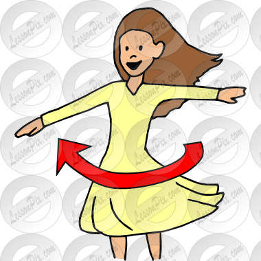 Twirl Picture for Classroom / Therapy Use.
