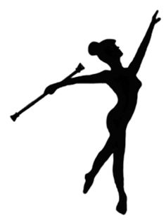 When I say I dance..I mean twirl baton. Twirling baton brings.