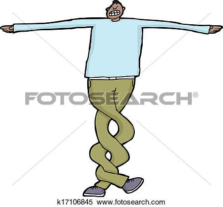 Twist leg Clip Art Illustrations. 45 twist leg clipart EPS vector.