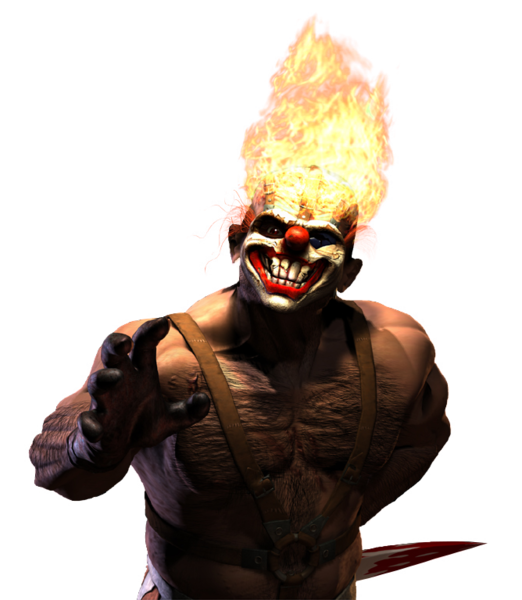 Clown Twisted Metal 3 Sweet Tooth (PSD).