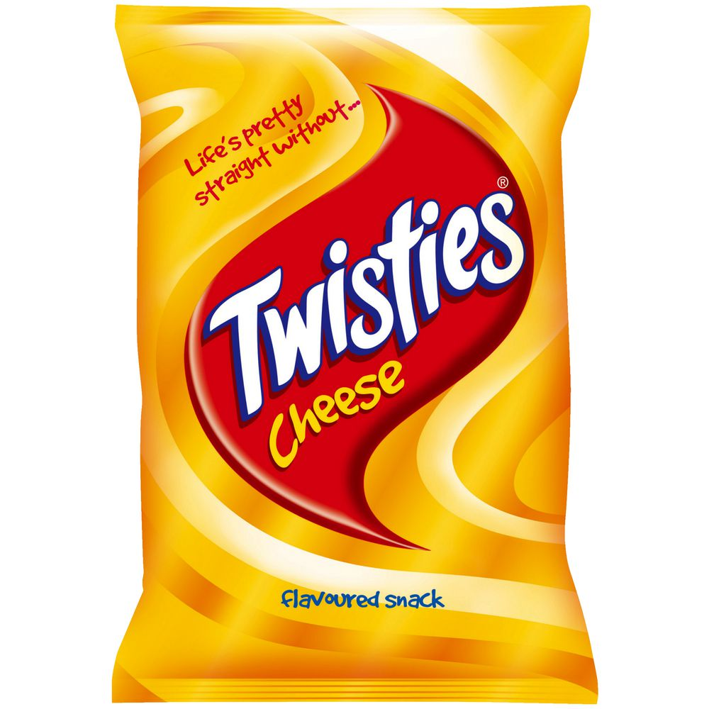 Twisties Cheese Chips 90 gram.