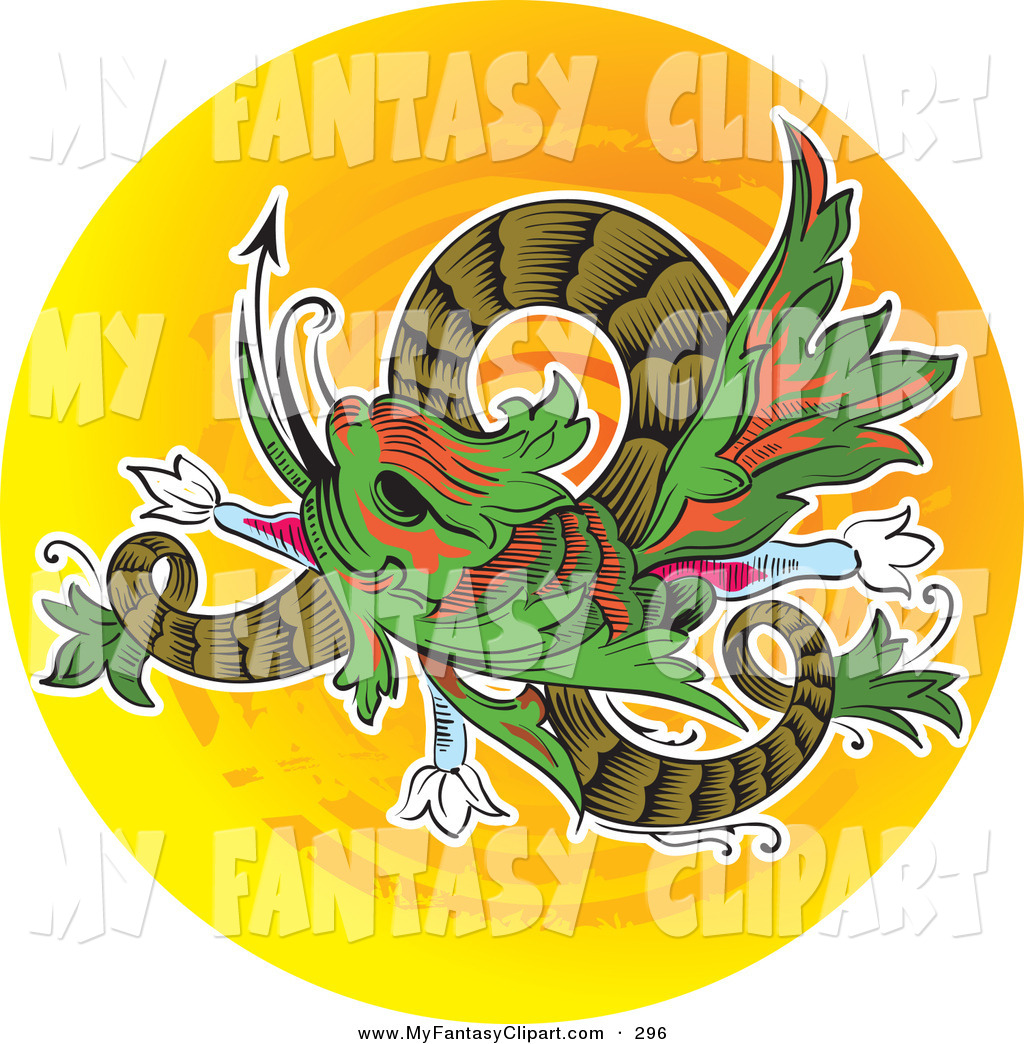 Royalty Free Chinese Dragon Stock Fantasy Designs.