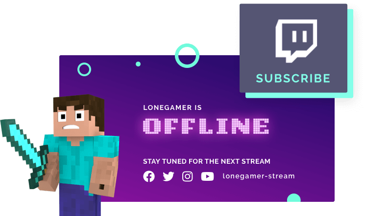 Free Twitch Banner Maker.
