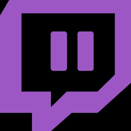 logo network social twitch icon.