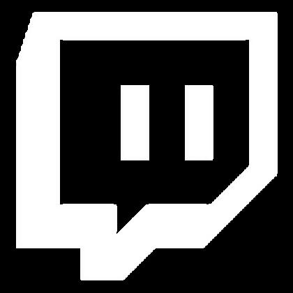 White Twitch Logo (Transparent Background).