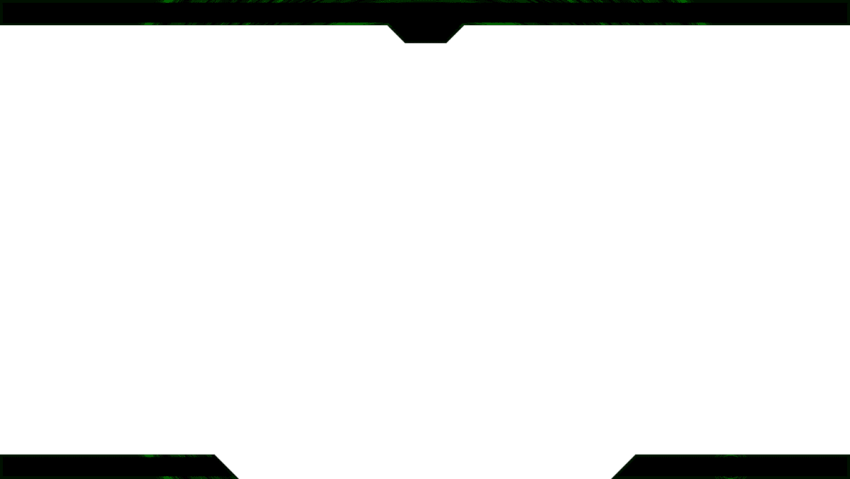 HD Simple Download Twitch Overlay Template Transparent.