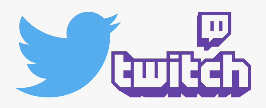 Twitter And Twitch Logos.