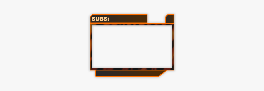 Twitch Webcam Overlay Png #2731580.