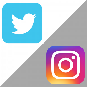 Instagram and twitter logo png 3 » PNG Image.