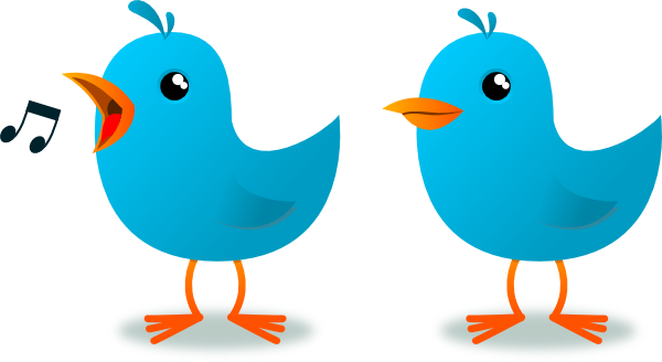 Twitter Bird Mascot Clip Art at Clker.com.