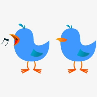 Clip Art Twitter Bird Tweet Tweet 5 Clipartist.