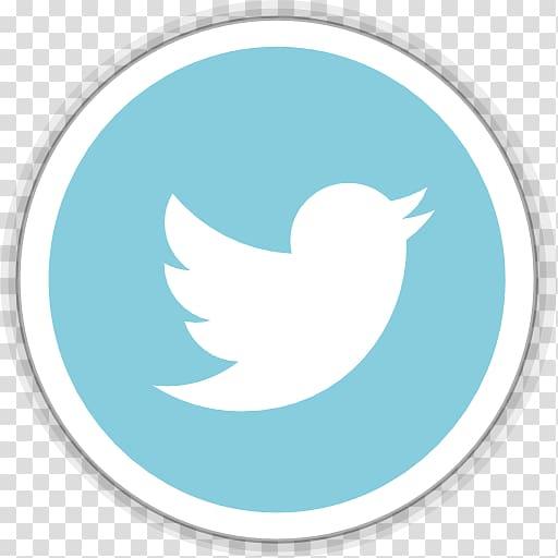 Twitter logo, blue aqua beak sky bird, Twitter transparent.