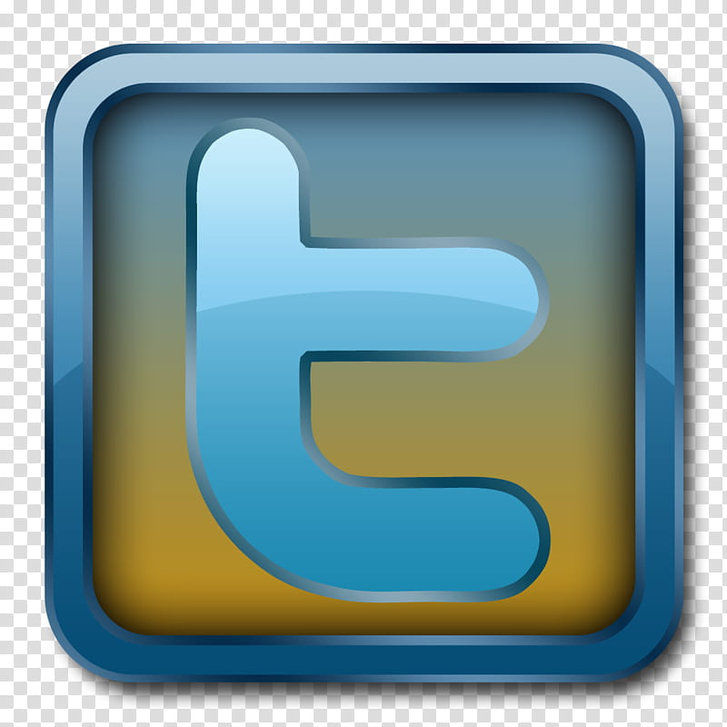 Twitter button transparent background PNG clipart.