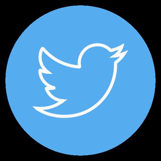 twitter, outline, social.