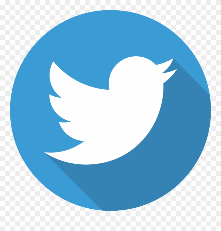 Circle Twitter Logo Png Clipart (#523784).