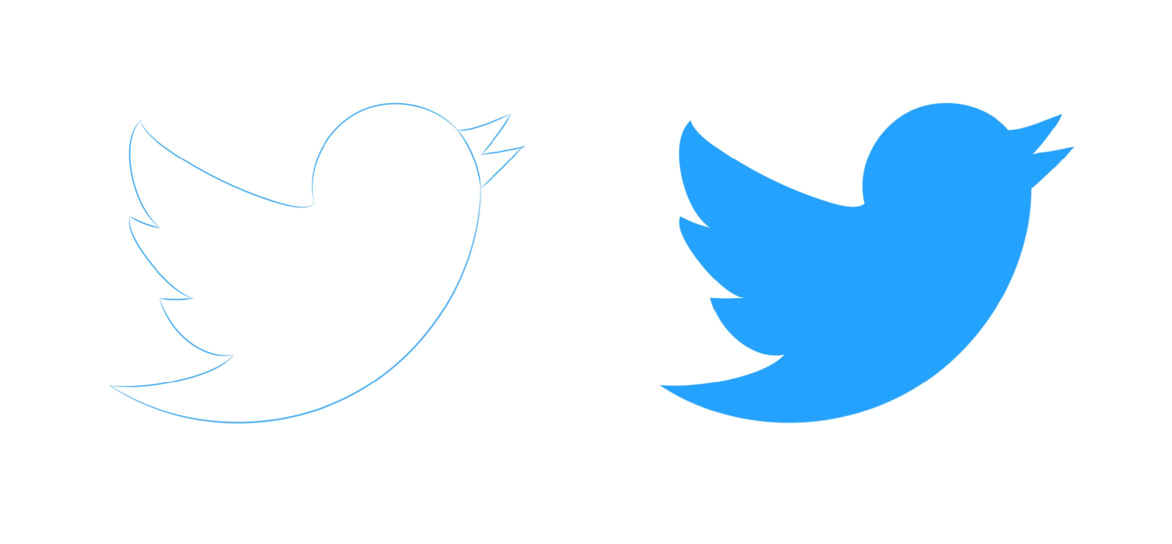 Twitter clipart logo.